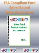 SFBB Safer Food Better Business for Retailers 2018 - FSA Compliant Pack Hygiene