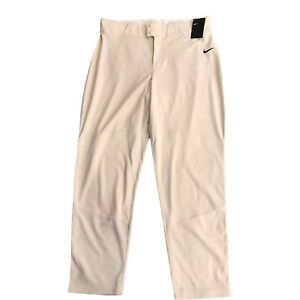 New Nike Men's Vapor Select Baseball Pants BQ6345-120 Men's Size 2XL  MSRP: $40