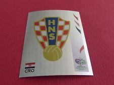 398 BADGE HRVATSKA CROATIE PANINI FOOTBALL GERMANY 2006 WM FIFA WORLD
