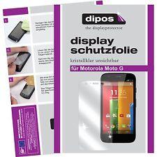 Motorola Moto G Schutzfolie klar Displayschutzfolie Folie dipos Displayfolie