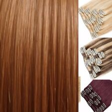 FULL HEAD short & long clip in Blonde feels like real remy human hair extension
