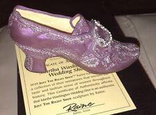 Raine Just The Right Shoe Mount Vernon Martha Washington Wedding Shoe 25410