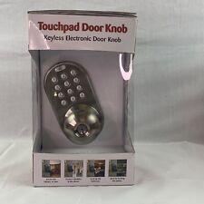 MiLocks Dkk-02sn Indoor Electronic Touchpad Keyless Entry Door Lock Satin Nickel