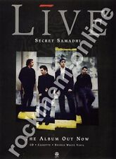 Live Secret Samadhi LP Advert