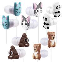 Cartoon Earphone 3D Cute Animal Unicorn Earbuds In-Ear Headphones Gift 3.5mm Hot