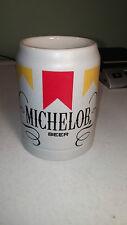 Michelob Beer Stein Mug Ceramarte Brazil Very Good condition !