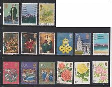 (U19-7) 1970-90 GB mix of 49stamps value to 1/6d (G)