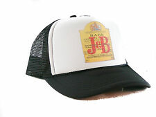 NEW J & B scotch whisky Trucker Hat mesh hat snapback hat Black