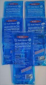 2x Kalt/Warm Kompresse 30x12 cm Kühlkompresse-Wärmekissen für Mikrowelle