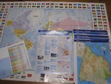 atlas / carte du monde / cartes pays / fiches pays /collection atlas /géographie