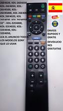 RM-ED011 = RM-ED009 Mando a distancia copia del TV Sony Bravia Lea el anuncio