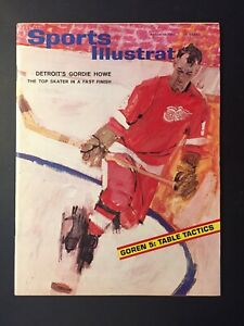 GORDIE HOWE Detroit Red Wings 1964 Sports Illustrated No Label NEWSSTAND Issue