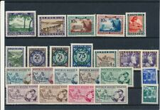 D069784 Indonesia Vienna Issues Nice selection of MNH stamps