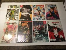 MARVEL COMICS LOT (8) (ALL #1's) Thor Ghost Rider Legion Scarlet Witch Hulk