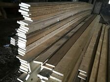 """RECLAIMED TIMBER PLANKS 5"""" x 1"""" x 22ft 7 metre LONG FOR FENCING KICKBOARDS SHEDS"""