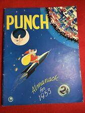 Vintage 1952 November 3 Punch Almanack For 1953 Magazine Space Cover Mars UFO