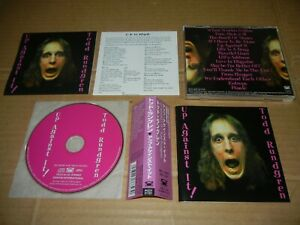 """Todd Rundgren """"Up Against It"""" Japan Only CD w/OBI PCCY-01121"""