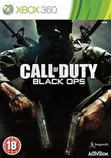 CALL OF DUTY noir OPS XBOX 360/XBOX ONE PAL