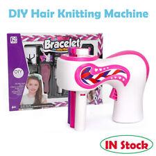 Electric Automatic DIY Hair Knitting Machine Braid Hair Tools Xmas Girl Gift