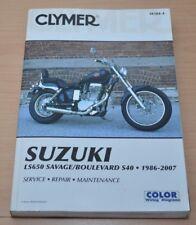 Suzuki LS650 Savage Boulevard S40 1986-2007 Reparaturanleitung Clymer Manual