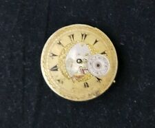ottoman Turkish market pocket watch dial with movement
