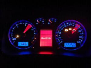 VW GOLF MK4 BORA  ANNIVERSARY FULL FIS DASH SPEEDO CLOCKS 1J5920846 R32 TACHO