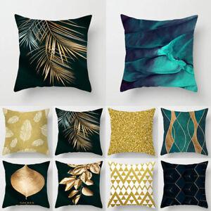 Nordic Geometric Peachskin Pillow Case Cushion Cover Home Sofa Throw Pillowcase