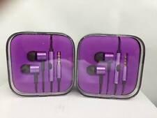 Headphones estilo Xiaomi Piston  auriculares, gold, earphones aluminum morada