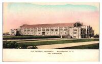 Gymnasium, Catholic University of America, Washington, DC Postcard *6A14