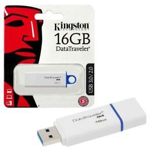 Kingston DataTraveler G4 16GB / 32GB USB Pen Drive Memory Stick -UK