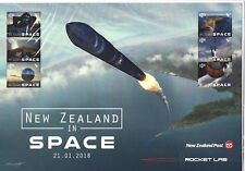 """NEW ZEALAND 2018 NEW ZEALAND IN SPACE  """"P"""" SHEET UNMOUNTED MINT, MNH"""
