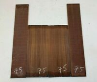 BEAUTIFUL! GUITAR BACK & SIDE TENOR UKULELE  ROSEWOOD LUTHIER TONEWOOD AAAA #75