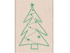 "HERO ARTS ""STITCHED TREE"" RUBBER STAMP"