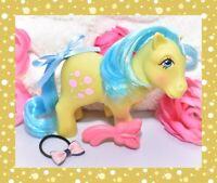 ❤️My Little Pony MLP G1 Vtg 1985 TOOTSIE Lollipop Green Earth Butterfly BRUSH❤️