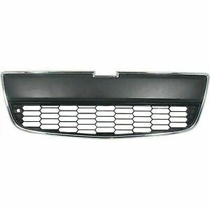Grille Lower Chrome/Black fits 2012 2013 2014 2015 2016 Chevrolet Sonic Sedan
