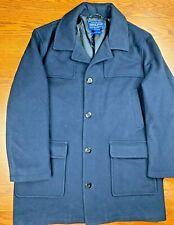 Adult Men's Pendleton Woolen Mills Trenton Coat Jacket Sz L Wool Cashmere Blend