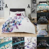New Luxury 100% Cotton Digital Print Duvet Cover Sets with Pillow Cases Bedding