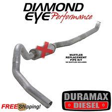 Diamond Eye 4 Inch Turbo Back Exhaust 01-07 Chevy Silverado 6.6L Duramax Diesel
