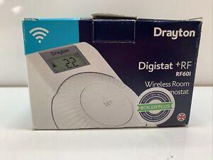 Drayton Digistat RF601 +RF - Wireless Room Programmable Thermostat