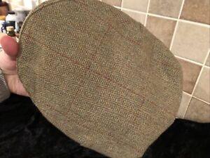 Barbour Flat Cap Brown Wool