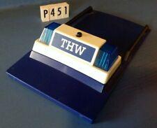 (P451) playmobil pièce véhicule toit + gyrophare THW ref 4087