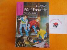 Enid Blyton Fünf (5) Freunde-Wie alles begann-Sammelband Nr.1-ERSTAUSGABE
