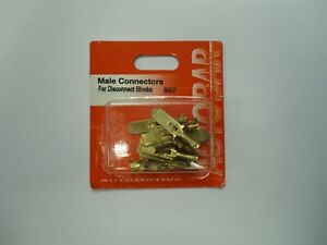 Male Spade Connectors