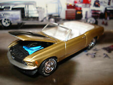 1970 FORD MUSTANG CONVERTIBLE LIMITED EDITION MUSCLE CAR 1/64 GREENLIGHT HOT!!