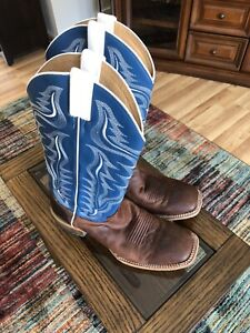 Cody James Brown Cowboy Boots 10D - Square Toe! Make An Offer!