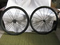 Campagnolo Shamal Mille Wheelset w/ Campy Skewers & Pads & Conti clincher tires
