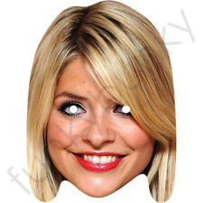 Holly Willoughby Celebrity Card Mask - All Our Masks Are Pre-Cut!***
