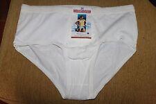 Slip Kangourou / ouvert Homme Champs Elysees coton - blanc Taille 6 Vintage neuf