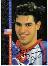 95/96  BE A PLAYER SIGNATURE CARDS JASON BONSIGNORE