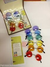 Crystal Light Balancing Colour Therapy Glasses Complete Set -CLB Healing System